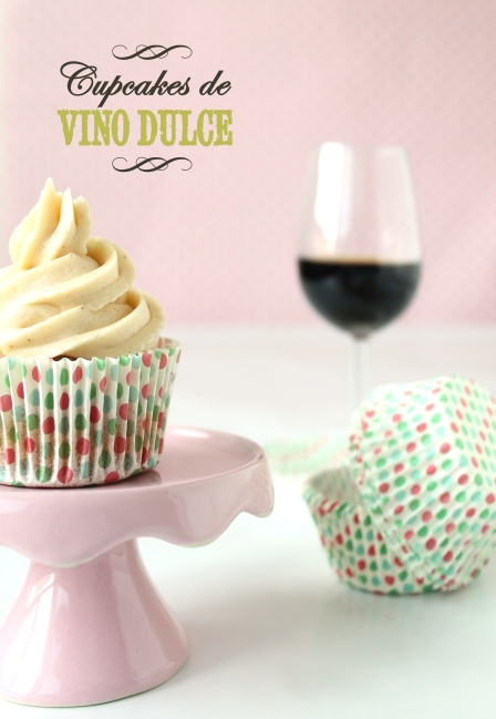 Cupcakes de vino dulce